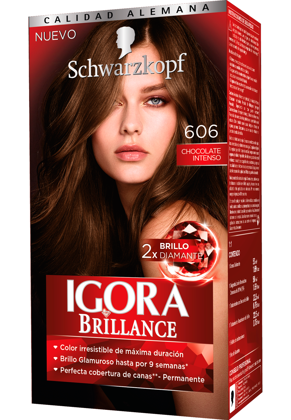 Igora brillance 606 chocolate intenso