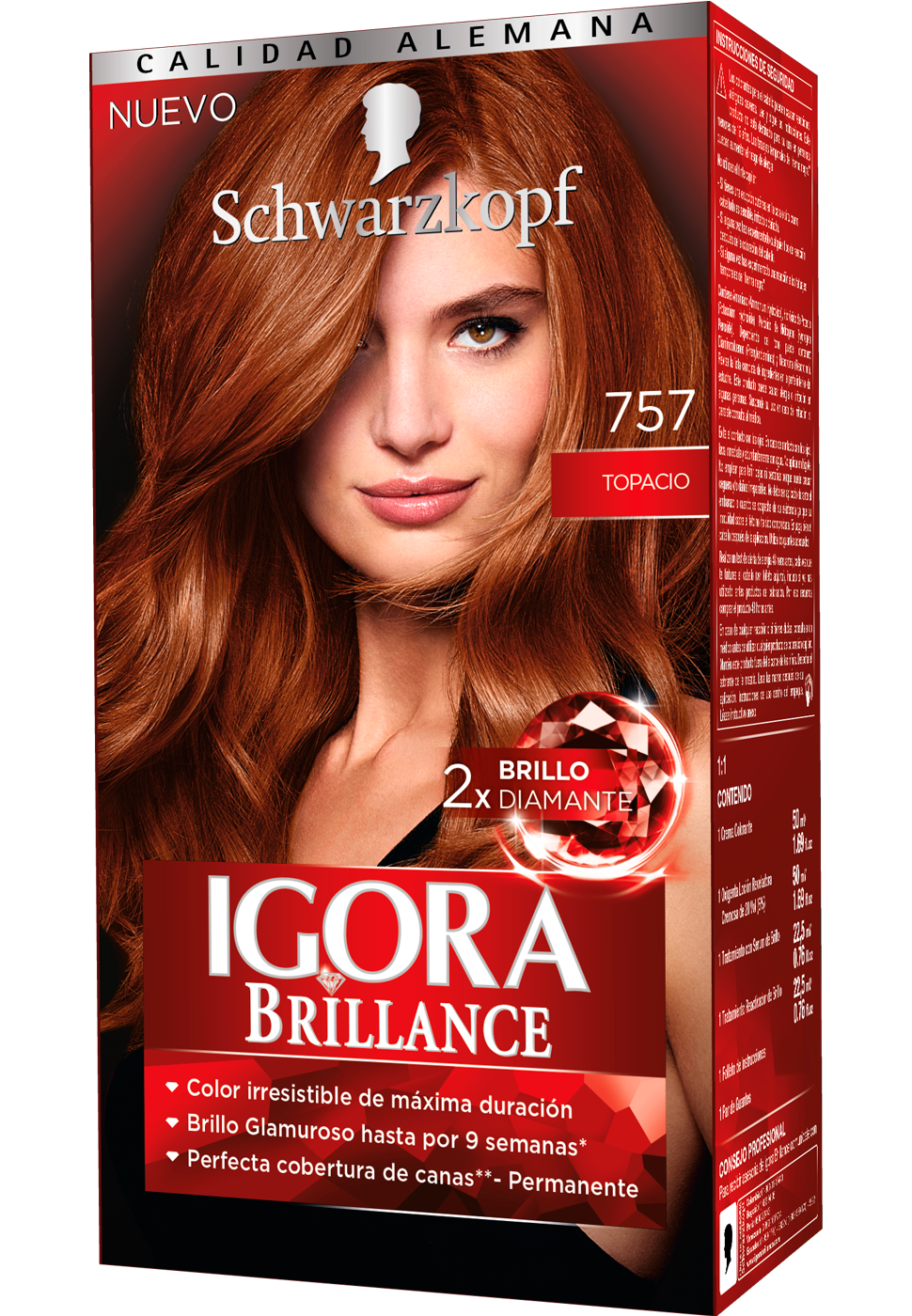 Igora brillance 757 topacio