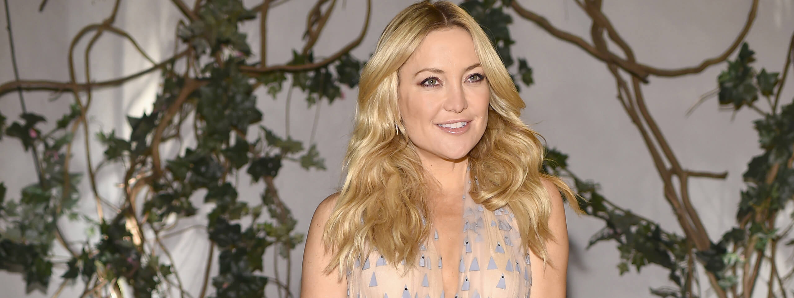 Kate Hudson color pelo rubio dorado